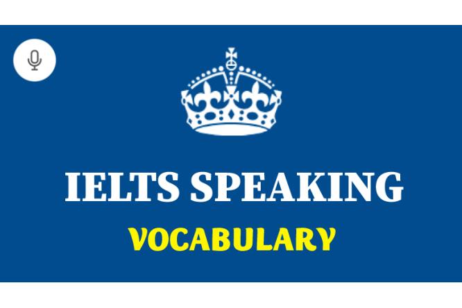 ielts-speaking-vocabulary
